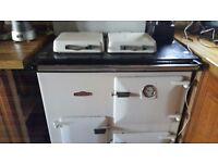 aga cooker royelle 7 white