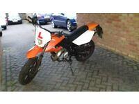 AJS JSM 50cc moped 2014 mot till 28th april 2018