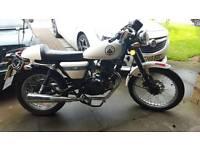 Sinnis Cafe 125cc Learner Legal Motorbike