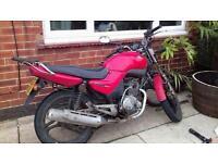 Ybr 125 motor bike