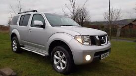 £7895 o.n.o Nissan Pathfinder 2.5 dci 7 seater 4x4, 2009 (09) MOT June 2018, 84,000 miles.