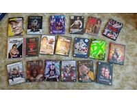 Large WWE DVD collection