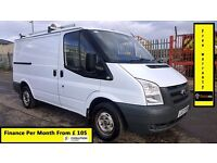 Ford Transit Low Roof SWB Van 2.2 300 - 49k Miles Only-1 Owner-X B. Gas-FSH-1YR MOT-Warranty-260 280