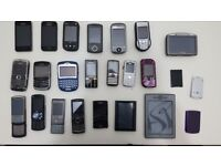 Job Lot Mobile Phones, spares, unchecked