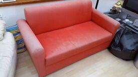 Ikea Sofa - red Solsta 2 seater