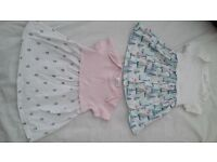 Two Next baby dresses 0-3 months