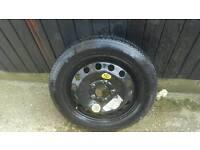 BMW spare wheel 120×5 r16