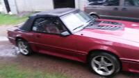 1989 ford mustang gt convertable