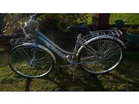 Ladies Atala bicycle ( 17 inch aluminium frame very lightweight)