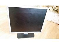 "DELL 17"" flat screen Monitor"