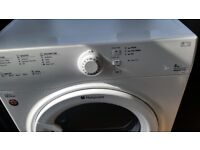 Hotpoint Aquarius 8KG Vented Tumble Dryer Free delivery within 10 miles Burnley