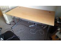 Office desk 1.5m width