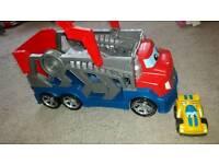 Megabloks transporter toy lorry