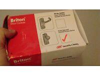 Briton 1413e ke knob operated outside access device