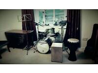 Drums and Percussion Tuition