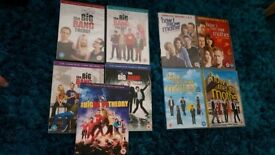 TV Series DVD's Big Band Theory and How I met your Mother