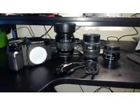 Pentax SF7 film camera