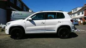 Vw tiguan r line white fully loaded