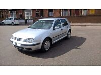 2004 04 REG VOLKSWAGEN GOLF 1.6 PETROL MOT TILL MAY 2017 5 SPEED MANUAL, PETROL, 5 DOOR HATCHBACK