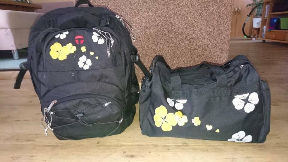 Schulruckssack + Sporttasche von TAKE IT EASY - gebraucht in Schipkau