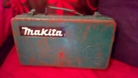 Vintage Makita M.E.W drill case /box