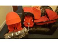 Quinny Moodd Pram Travel System/Carrycot