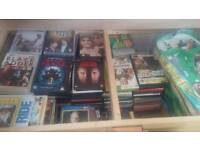 Dvd,games and cd's