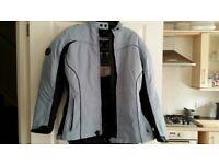 Ladies Motorcycle Richa Jacket Textile Weather Proof size 14/16