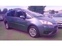 CITROEN C4 PICASSO 1.6 HDI VTR+ AUTOMATIC 7 SEATER 2009 / 72K MILES / FULL SERVICE HISTORY HPI CLEAR