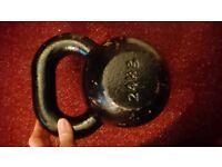 Cast Iron kettlebell-24kg