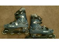 For sale is a pair of the Bauer roller skates.
