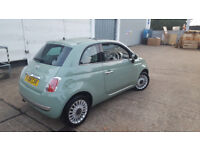 fiat 500 lounge 2008 . city drive . panaromic roof. 1 year mot. sperb drive. cheap bargain price
