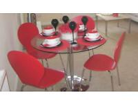 NEXT 4 Seater Round Dining Table And Chairs