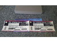 Ed sheeran tickets glasgow