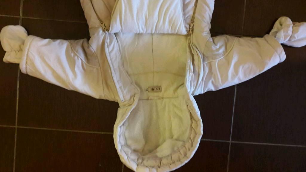 Baby snowsuit-size 68cm