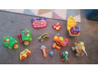 Small selection of baby/toddler toys