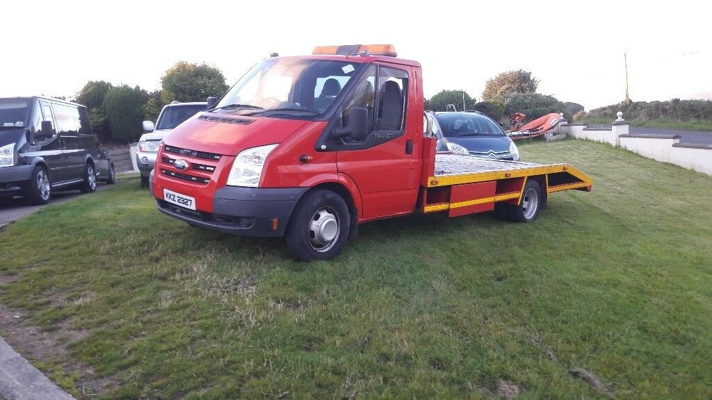 Recovery ford transit