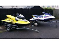****2 GREAT JET SKIS FOR SALE**£1300 each or £2500 for both quick sale ** FANTASTIC CONDITION.