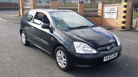 Honda Civic 1.6 black golf leon ibiza focus