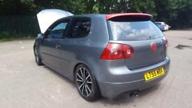 Grey 55 reg golf GTI 2.0 petrol