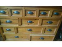 Large Mexican Pine Drawers