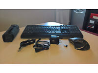 Logitech K520 Keyboard and Performance MX mouse combo Wireless