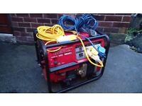 Honda EB 1900X Generator.Petrol 4Stroke 5,5HP Honda GX140 and Single Phase 115/230Voltage + 2x Leads