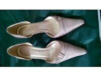 LK Bennett Gold shoes - Size 7
