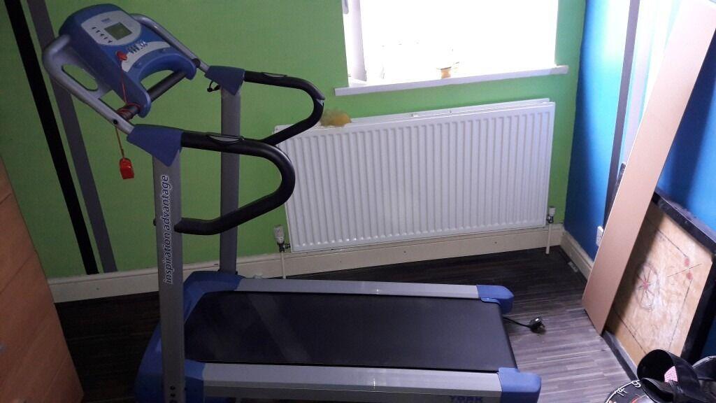 york inspiration treadmill. york inspiration advantage treadmill