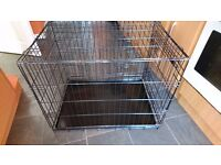 Large dog / puppy cage crate