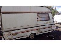 Caravan shell or trailer
