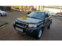 LEFT HAND DRIVE FREELANDER TD4 SPORTS IN SOUTH EAST LONDON