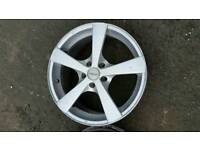 Vauxhall vectra alloy wheels aftermarket 17inch