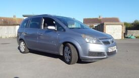 Vauxhall ZAFIRA spares or repair